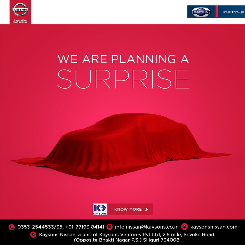 Teaser Ad for Kaysons Nissan