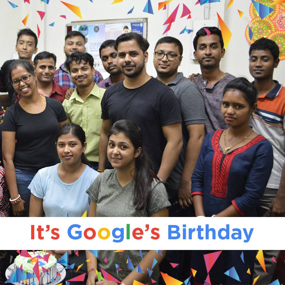 Googles Bday Celebration