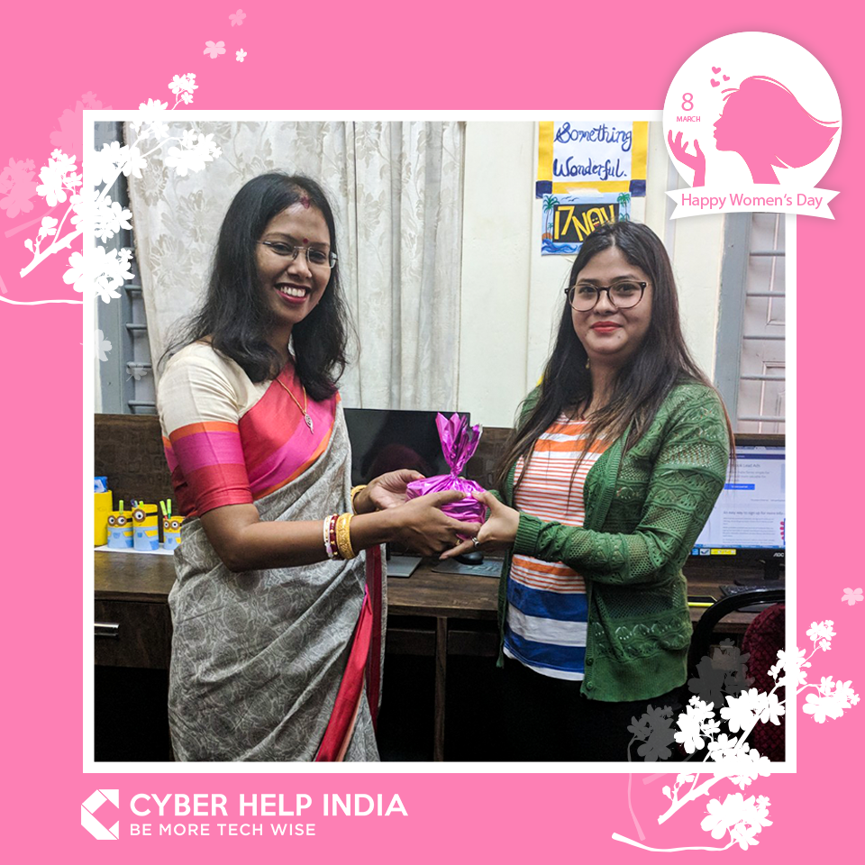 Womens Day 2018 Celebrated at Cyber Help India